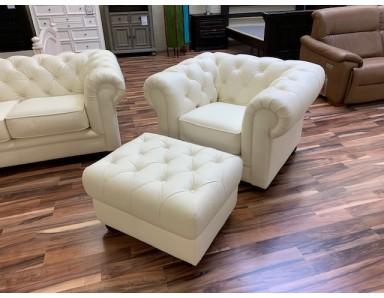 New Lecce Chair & Ottoman Take 50% Off
