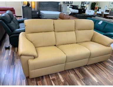 New Natuzzi Editions C063 Triple Power Reclining Sofa Take 50% Off