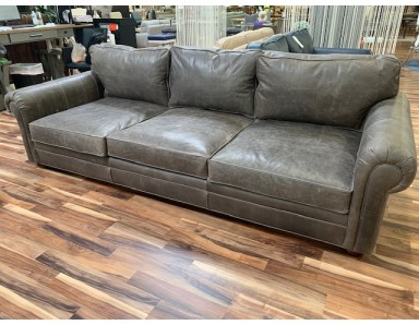 Floor Model Sedona Sofa Take 50% Off Pull Up Leather Shows Some Scratches Tajke 50% Off