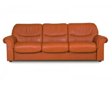 Stressless Liberty Low-Back Leather Sofa & Sectional