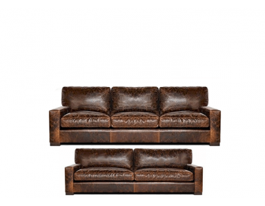 Napa (Maxwell) Oversized Seating Leather Sofa & Set