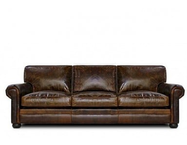 Sedona Oversized Seating Leather Sofa & Set