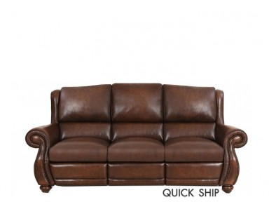 Kane Leather Power Reclining Sofa