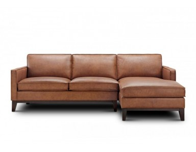 Lima Leather Sectional