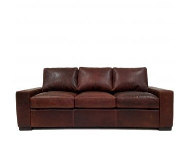 New River Oversized Leather Sofa or Set (Largest)