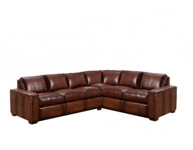 Alta Leather Sectional