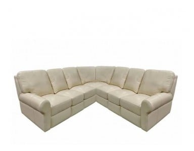 Asheboro Leather Reclining Sectional