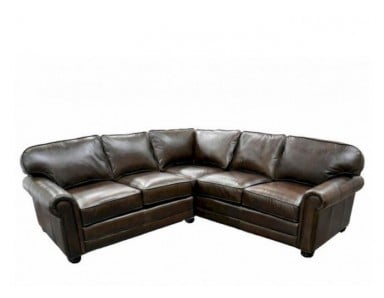 Augusta Leather Sectional