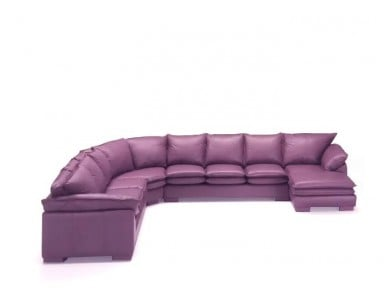 Boardwalk Leather Sectional