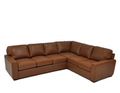 Brentwood Leather Sectional