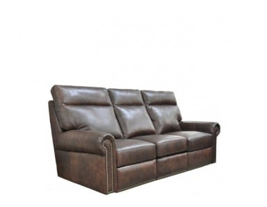 Camden Leather Reclining Sofa & Set