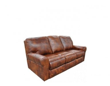 Carefree Leather Reclining Sofa & Set