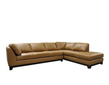 Century City Leather Sectional