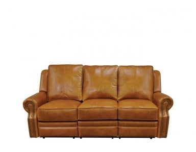 Charlotte Leather Reclining Sofa & Set