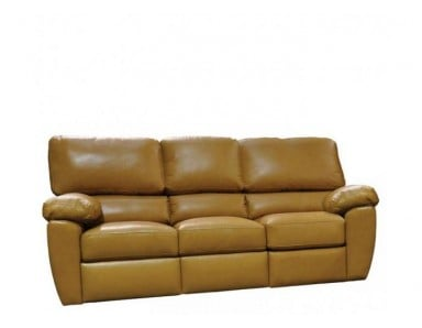 Chilli Leather Reclining Sofa & Set