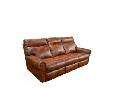 Cutler Leather Reclining Sofa & Set