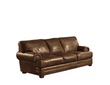 Dansville Leather Sofa & Set