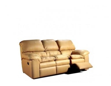 Diego Leather Reclining Sofa & Set