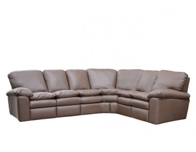 Durango Leather Reclining Sectional
