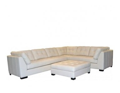 Durham Leather Sectional & Sofa or Set