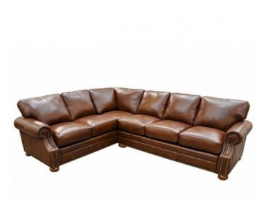 Granada Leather Sectional