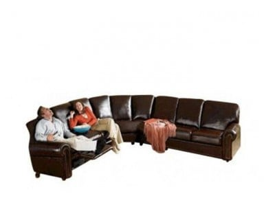 Greensboro Reclining Leather Sectional