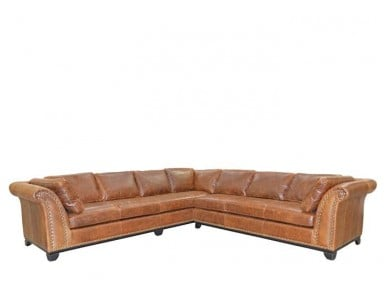 Hickory Leather Sectional & Sofa or Set
