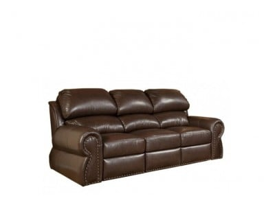 Lumberton Leather Reclining Sofa & Set