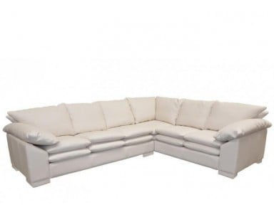 Tuscany II Leather Sectional