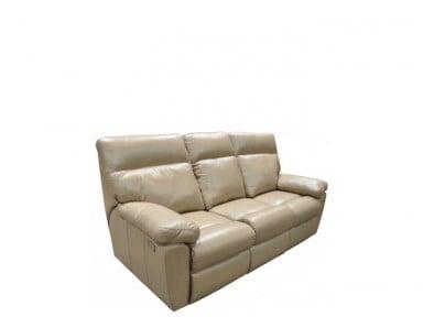 Weston Reclining Leather Sofa or Set - Available With Power Recline | Power Tilt Headrest | Power Lumbar