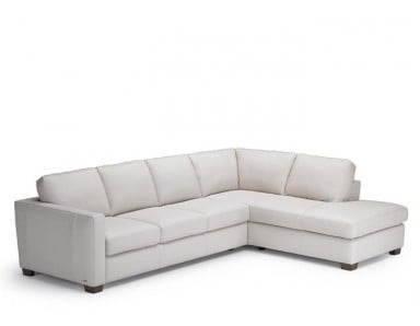 Natuzzi Editions B735 Leather Sectional