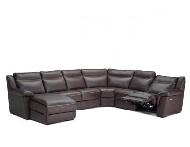 Natuzzi Editions B865 Leather Sectional