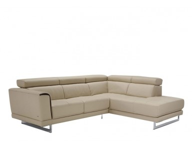 Natuzzi Editions B887 Leather Sectional | Adjustable Headrest