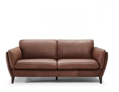 Natuzzi Editions B908 Geloso Leather Sofa