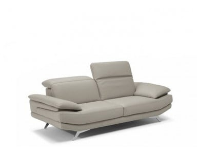 Natuzzi Editions B936 Principe Leather Sofa or Set | Adjustable Headrest