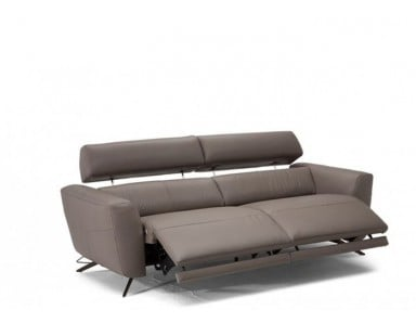 Natuzzi Editions C013 Sorpresa Reclining Leather Sofa & Set | Adjustable Headrest