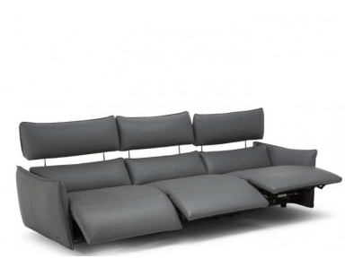 Natuzzi Editions C027 Stupore Leather Sofa & Set | Adjustable Headrest