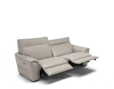 Natuzzi Editions C046 Energia Reclining Leather Sofa | Adjustable Headrest