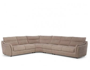 Natuzzi Editions C055 Affetto  Leather Sectional