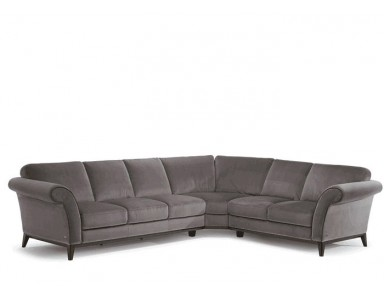 Natuzzi Editions C058 Letizia Leather Sectional