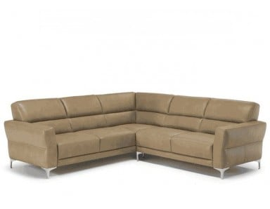 Natuzzi Editions C105 Accogliente Leather Sectional