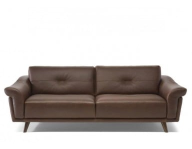 Natuzzi Editions C112 Contento Leather Sofa