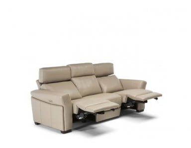 Natuzzi Editions C114 Gioviale Power Reclining Sofa & Power Headrest