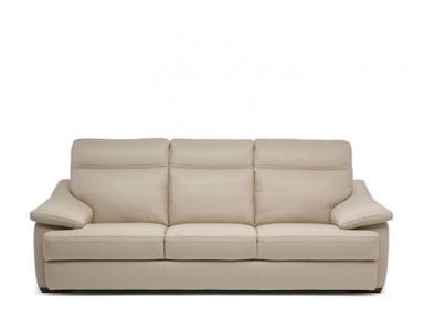 Natuzzi Editions C012 Pazienza Power Reclining Leather Sofa or Set - Available With Power Tilt Headrest