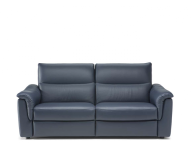 Natuzzi Editions C176 Amorevole Power Reclining Leather Sofa or Set - Available With Power Tilt Headrest   Power Lumbar