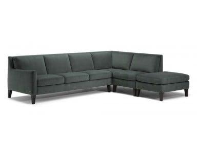 Natuzzi Editions C009 Quiete Leather Sectional (Alternate to C092 Destrezza)