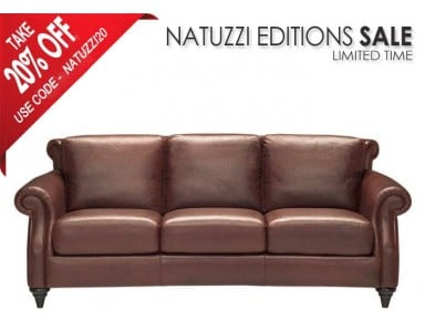 Natuzzi Editions A297 Leather Sofa U0026 Set