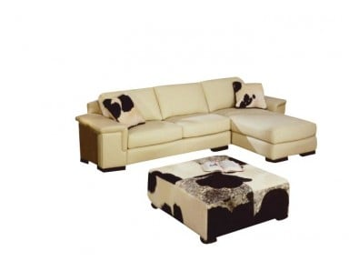 Omnia Mercedes Leather Sofa & Sectional
