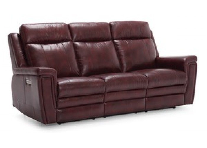 Ashley Leather Power Reclining Sofa Amp Set With Adjustable