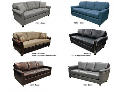 Build Your Own Leather Sofa or Set